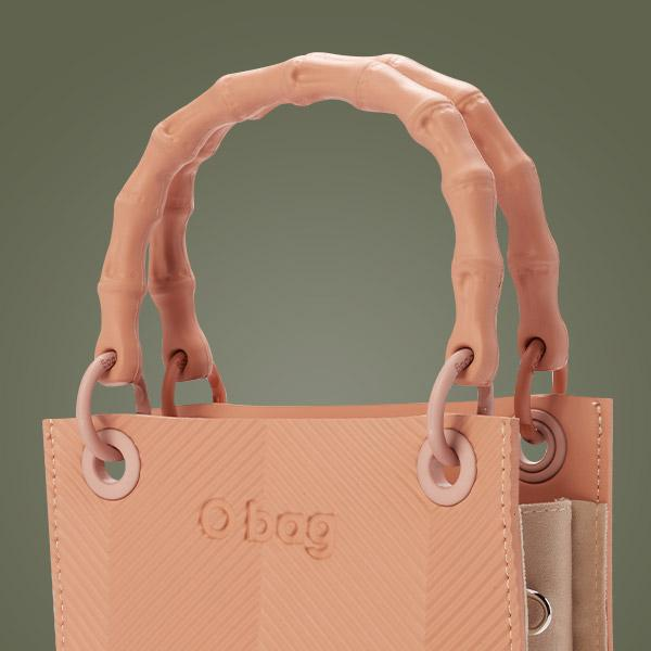 O bag double mini handles and straps