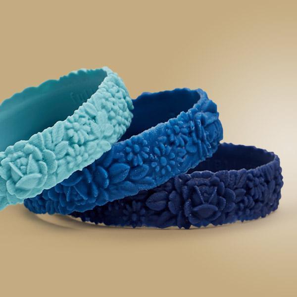 O bracelet flower slim