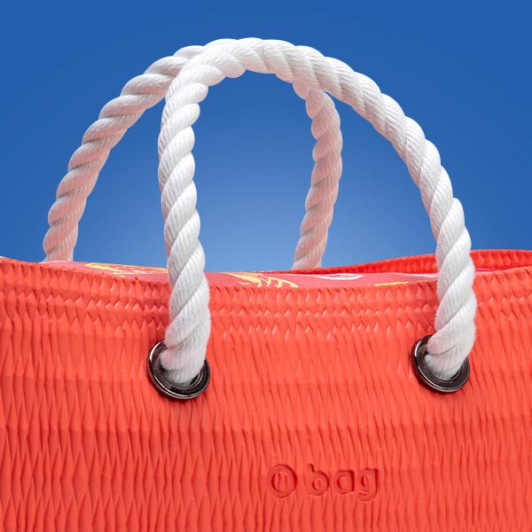 O bag beach mini manici e tracolle