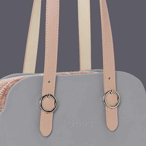 O bag reverse handles and straps