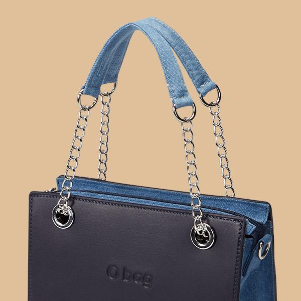 O bag double handles and straps