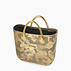 O bag mini painted gold