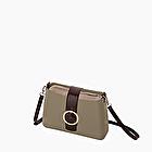 O bag glam cocco brown