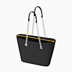 O bag urban black with metal handle