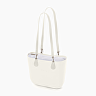 O bag white with inner bag