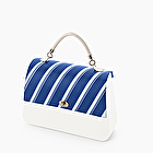 O bag queen stripes bluette