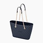 O bag urban matelassé blue navy
