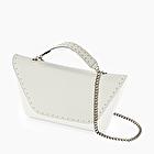 O bag sheen white