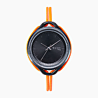 O clock time orange fluo
