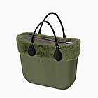 O bag mini herringbone military