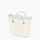O bag mini total white