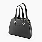 O bag reverse black and white