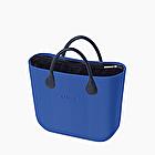 O bag mini herringbone imperial blue