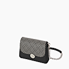 O bag glam black and white geometric lily