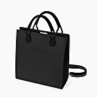 O square black with black shoulder strap