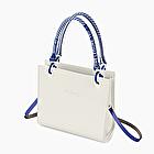 O bag double white and bluette athleisure fantasy