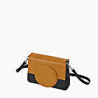 O bag glam biscuit and black