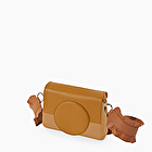 O bag glam biscotto e cammello