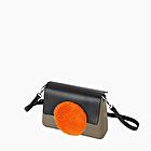 O bag glam arancione fluo e roccia
