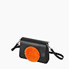 O bag glam arancione fluo tracolla