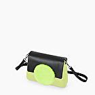 O bag glam giallo fluo e celery green