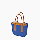 O bag azul imperial y galleta