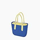 O bag azul imperial y verde apio