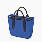 O bag mini blu imperial e blu navy