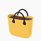 O bag mini curry marrón oscuro snake
