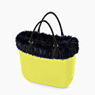 O bag mini lima y azul