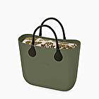 O bag mini military damask avocado