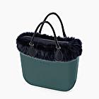 O bag mini teal and blue