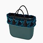 O bag mini octane avec garniture fausse fourrure