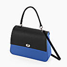 O bag queen imperial blue and black