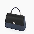 O bag queen navy blue and black