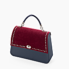 O bag queen navy blue and bordeaux