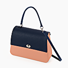 O bag queen phard and navy blue