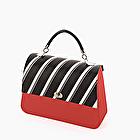 O bag queen red active stripes