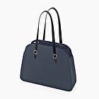 O bag reverse total bleu marine nappa