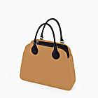 O bag reverse cammello e nero