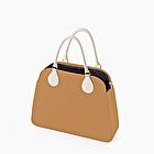 O bag reverse camel and black