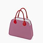 O bag reverse cassis e rosso