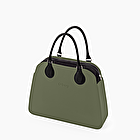 O bag reverse military and black