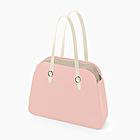 O bag reverse rosa smoke e latte