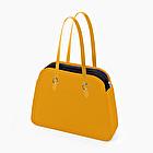 O bag reverse total chrome yellow