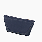 O bag sheen navy blue