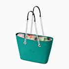 O bag urban blue grass floreal