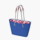 O bag urban imperial blue and grenadine