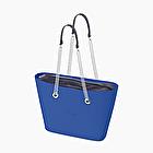 O bag urban blu imperiale e blu navy