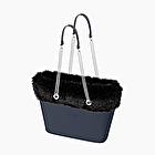 O bag urban navy blue and black